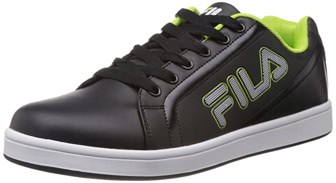 Fila Men Hatty Black Sneakers Men's Sneakers at amazon
