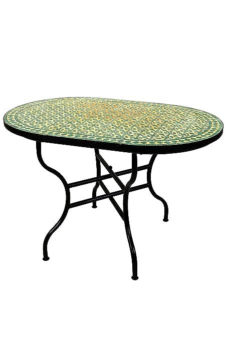 Original Marrakesch Bidhan Table mosaïque rectangulaire 120 x 80 cm ...