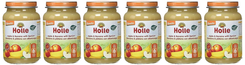 Holle Potito de Manzana, Plátano y Albaricoque (+6 meses ...