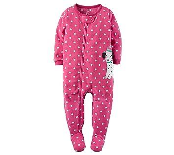 Amazon.com   Carters Big-girls 1 Pc Fleece Footed Blanket Sleeper Pajamas  (4 6fb7b1691