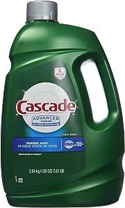 Cascade Advanced Power Liquid Machine Dishwasher Detergent with Dawn, 125-Fl. Oz, Plastic Bottle (125 Fl Oz)