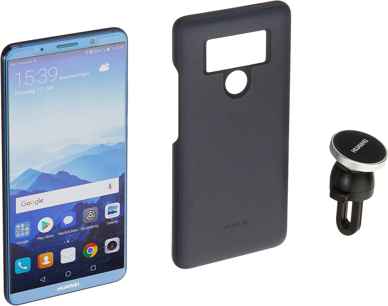 Huawei 51092ssw mate10 Pro 15,24 Cm (6 Pulgadas) Smartphone (128GB Memoria Interna, 6 GB RAM, cámara 20 MP, Bicolor Flash, Android 8.0, emui 6.0) Midnight Azul: Amazon.es: Electrónica