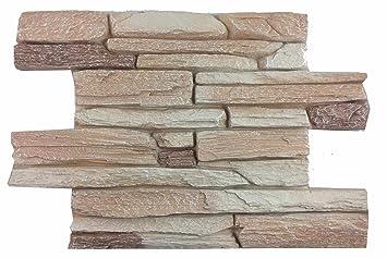 Wandverkleidung In Steinoptik Für Küche Terrasse Schlafzimmer Wohnzimmer |  Wandpaneele Für Mediterrane Wandgestaltung Aus Hartschaum |