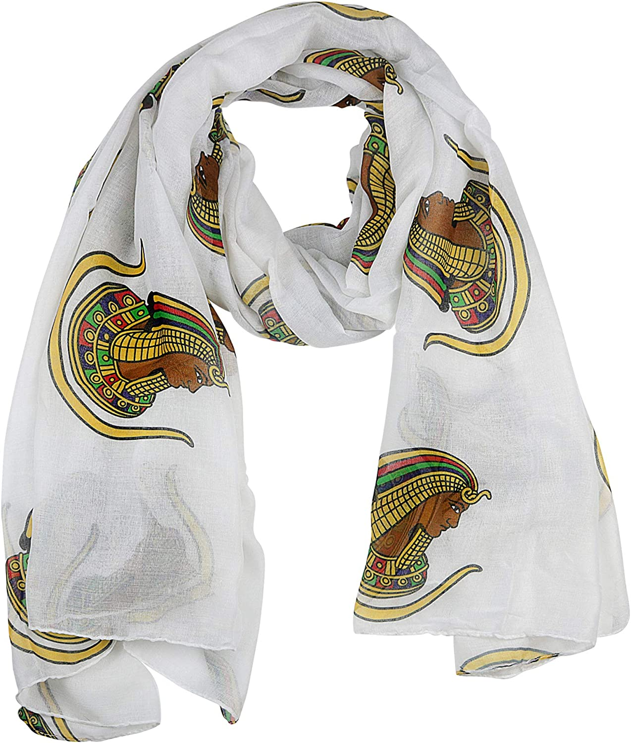 Daughters of the Imperial Court/Daughters of Isis Oversized Lightweight Scarf (36x72 inches)