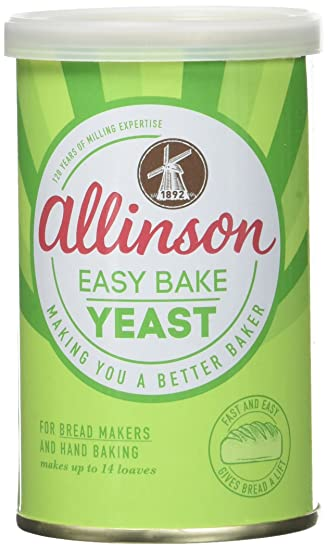 Allinson Easy Bake Estaño levadura 100g