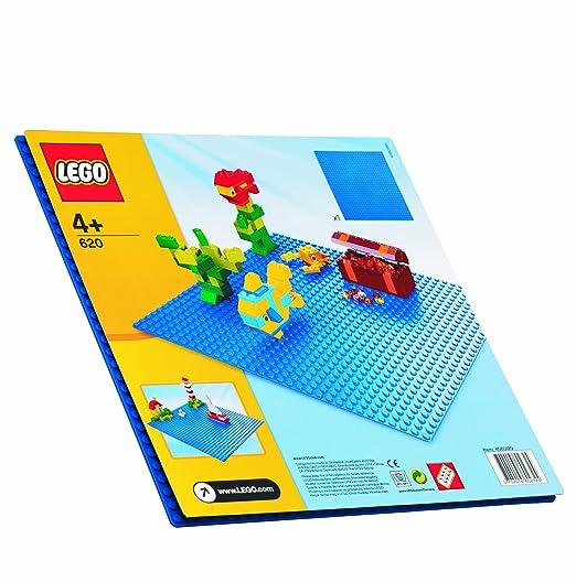 199 opinioni per LEGO 620- Base blu LEGO