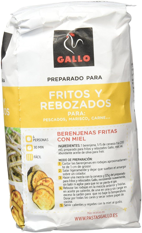 Pastas Gallo - Harina De Fritos Y Rebozados Paquete 1000 gr - Pack de 10 (Total 10000 grams): Amazon.es: Alimentación y bebidas