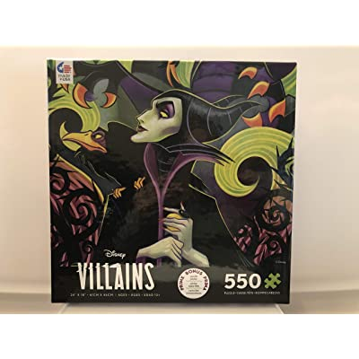 Disney Villains Maleficent 550 Piece Jigsaw Puzzle: Toys & Games