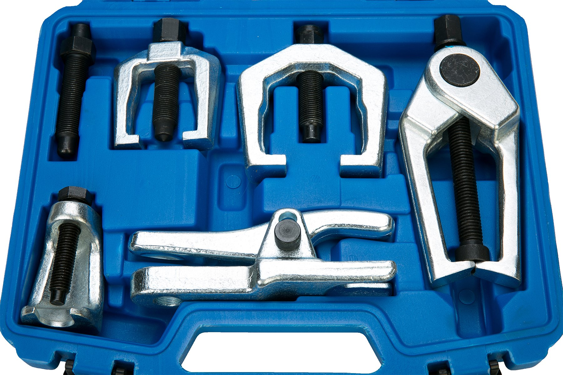 8milelake 6pc Front End Service Tool Kit Ball Joint Separator Pitman Arm Tie Rod Puller by 8MILELAKE (Image #7)