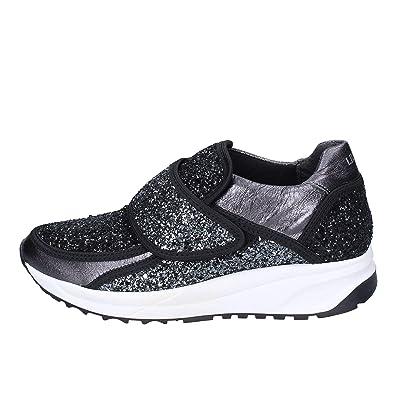 Liu Jo Sneaker Donna Glitter Nero: Amazon.it: Scarpe e borse