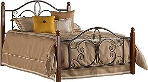Hillsdale Furniture Hillsdale Milwaukee Post Queen Bed Textured Black