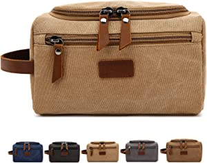 Sweepstakes - Men's Toiletry Bag Canvas Shaving Dopp...
