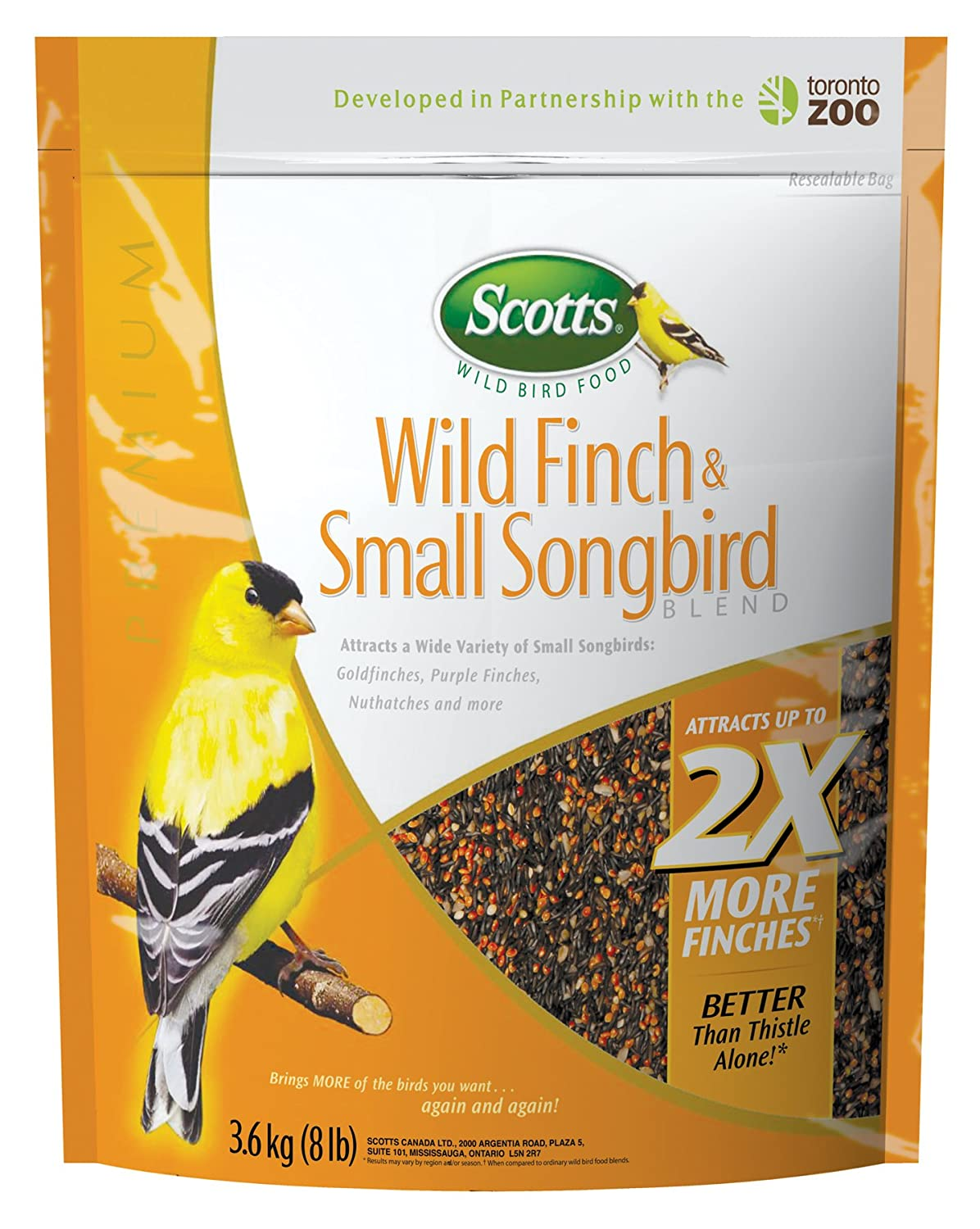 Scotts 3.63kg Wild Finch and Small Songbird Blend Scotts® 2022615