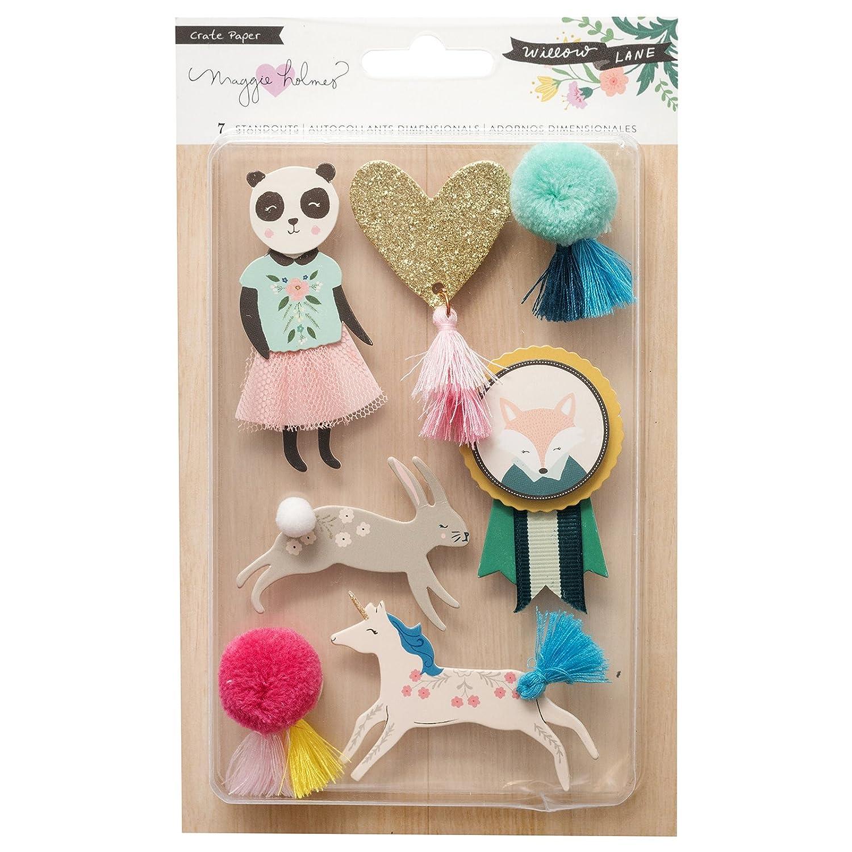 Maggie Holmes 344475adesivi, multicolore American Crafts