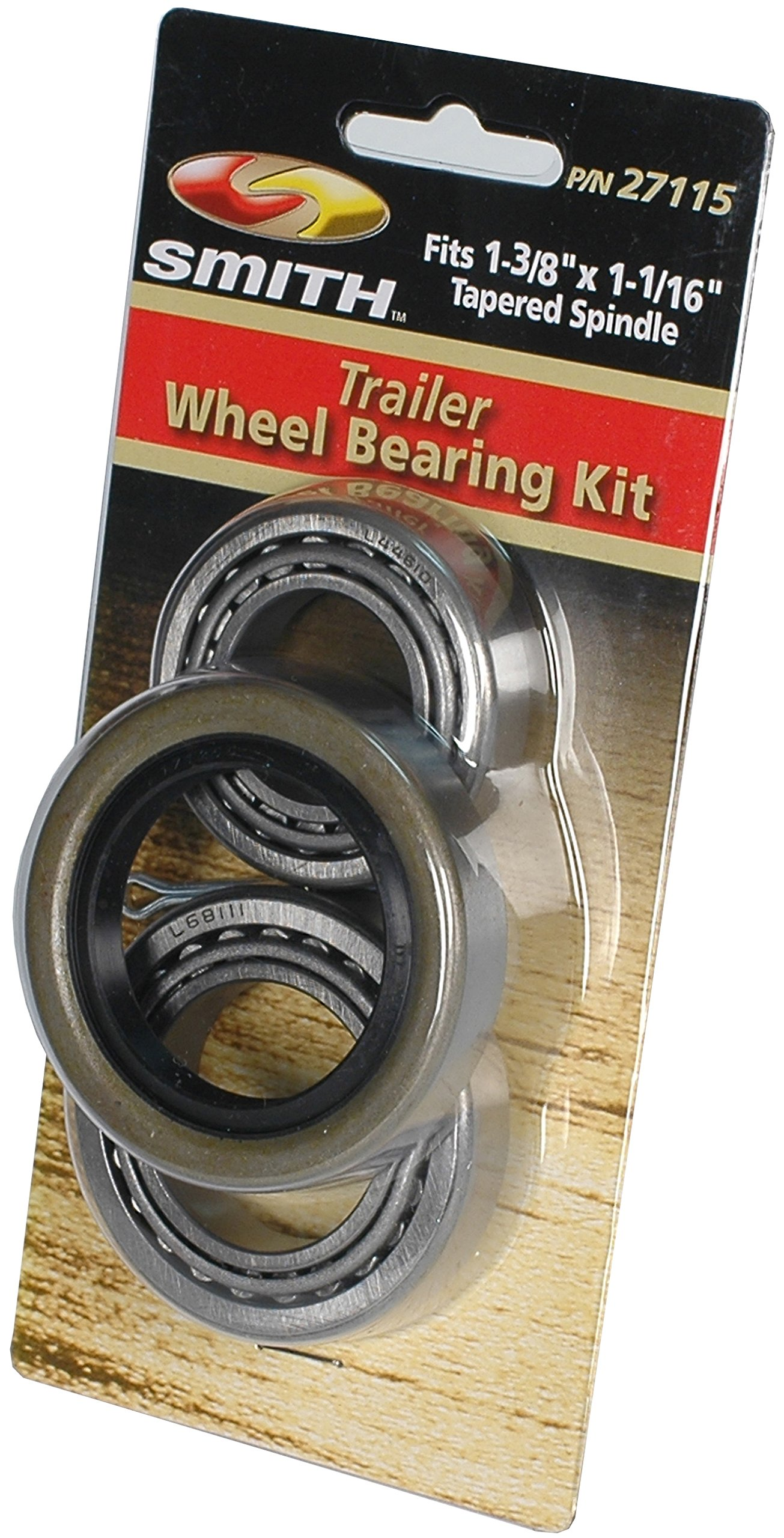 CE Smith Trailer 27115 Tapered Bearing Kit, 1-3/8'' to 1-1/16''- Replacement Parts and Accessories for your Ski Boat, Fishing Boat or Sailboat Trailer