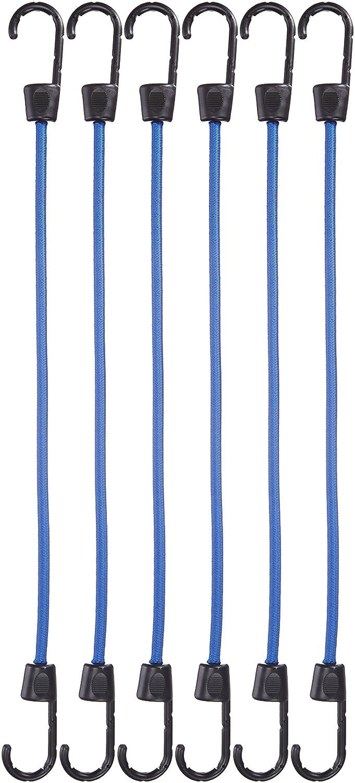 AmazonBasics - Cuerda elástica - Paquete de 24: Amazon.es: Coche y ...
