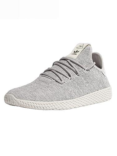 643aaf094a3de Image Unavailable. Adidas Pharrell Williams Tennis Hu Girls Sneakers Grey