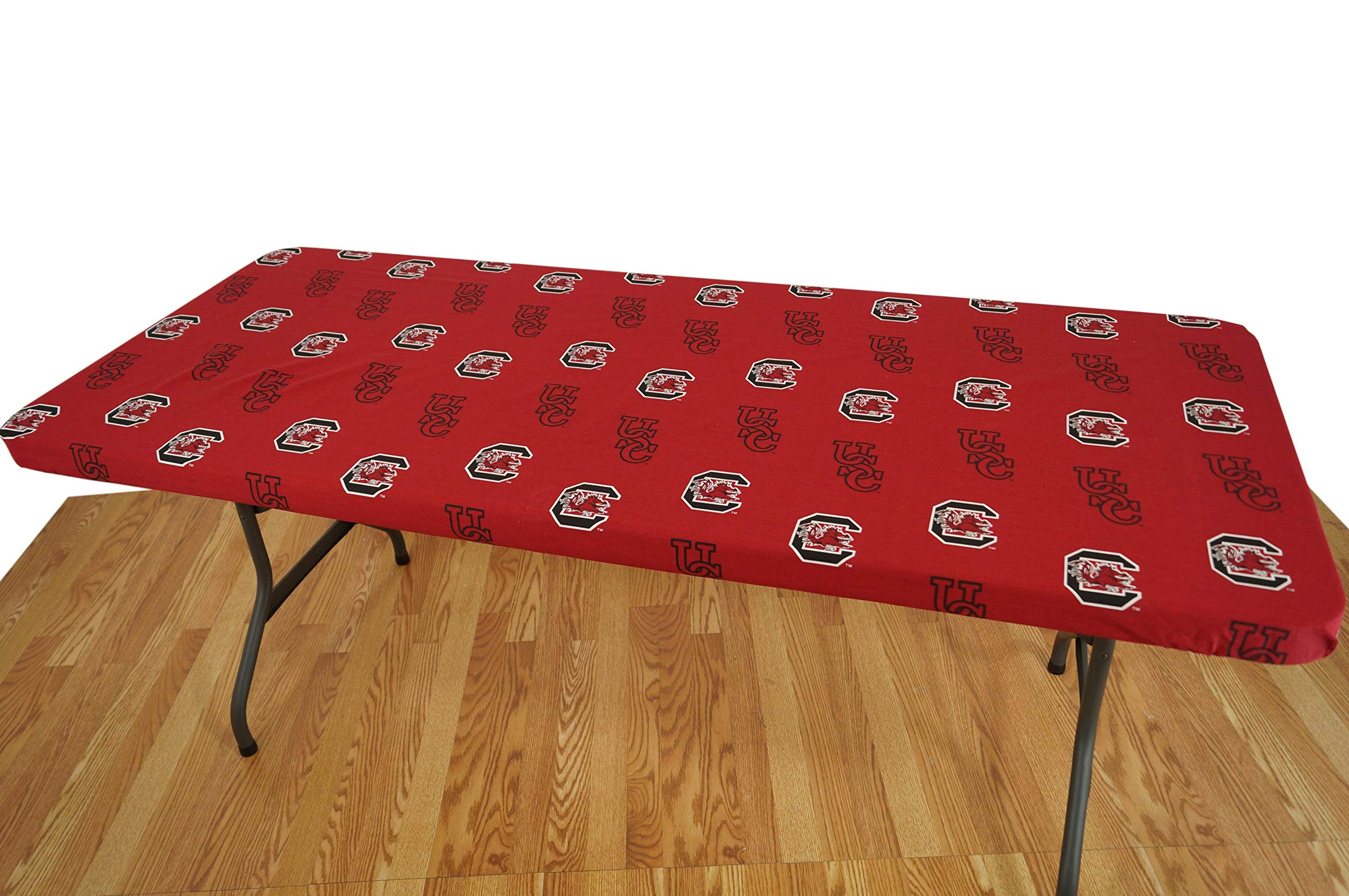 College Covers South Carolina Gamecocks 6' Table Cover - 72'' x 30''