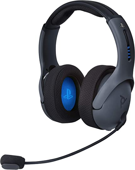 Amazon com: PDP PS4 LVL50 Wireless Stereo Gaming Headset