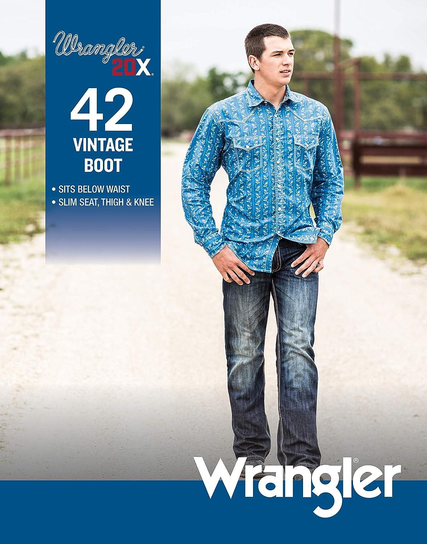 Wrangler Mens 20x Vintage Boot Cut Jean