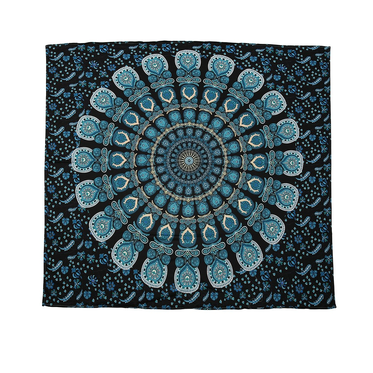 Feather Tapestry Peacock Tapestries Mandala Wall Hanging on SALE