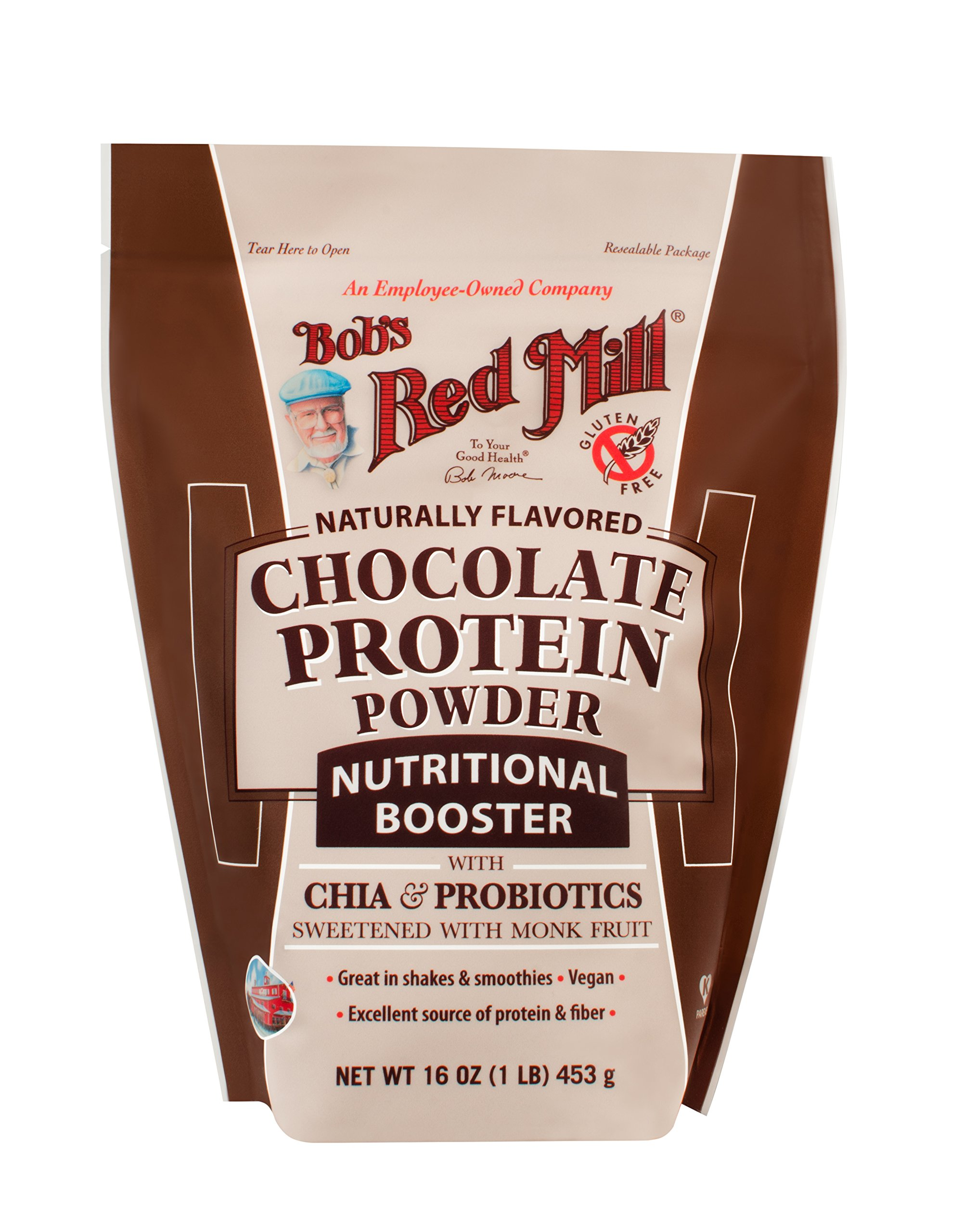 Bob S Red Mill Protein Powder Nutritional Booster Chocolate