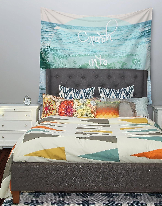 Kess InHouse Beth Engel Crash Into Me Wall Tapestry 68 X 80