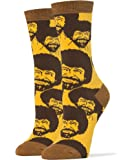 Oooh Yeah Socks Women's Luxury Combed Cotton Bob Ross Nice
