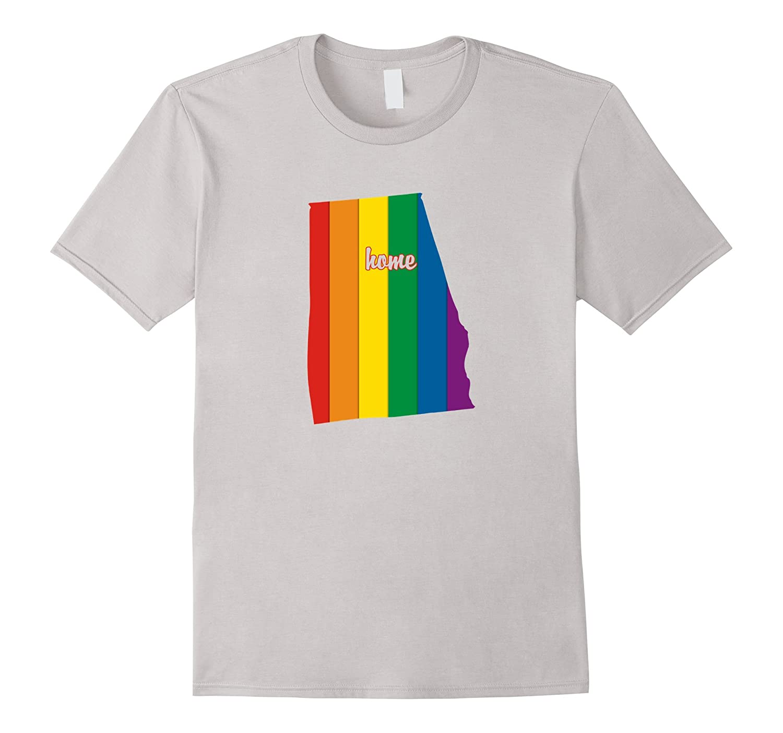 Alabama Rainbow Shirt LGBT Flag Pride Gift Ideas-CD