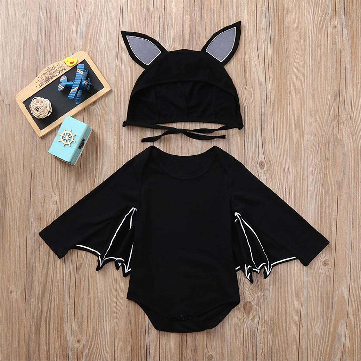 18M-90 happy event Kleinkind Baby M/ädchen Junge Baumwolle Fledermaus Kost/üm Outfits Kleidung Sets Toddler Infant Baby Girl Boy Bat Outfits Clothes Sets