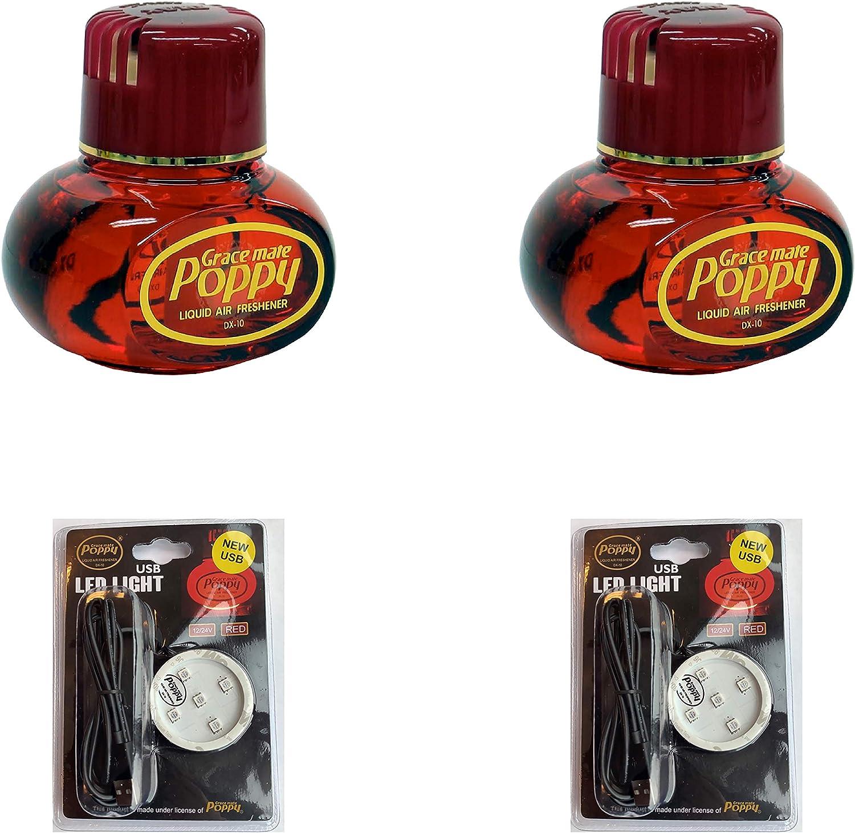 Cherry Gracemate Poppy Lufterfrischer Und 2 Led Lampen Drogerie Körperpflege