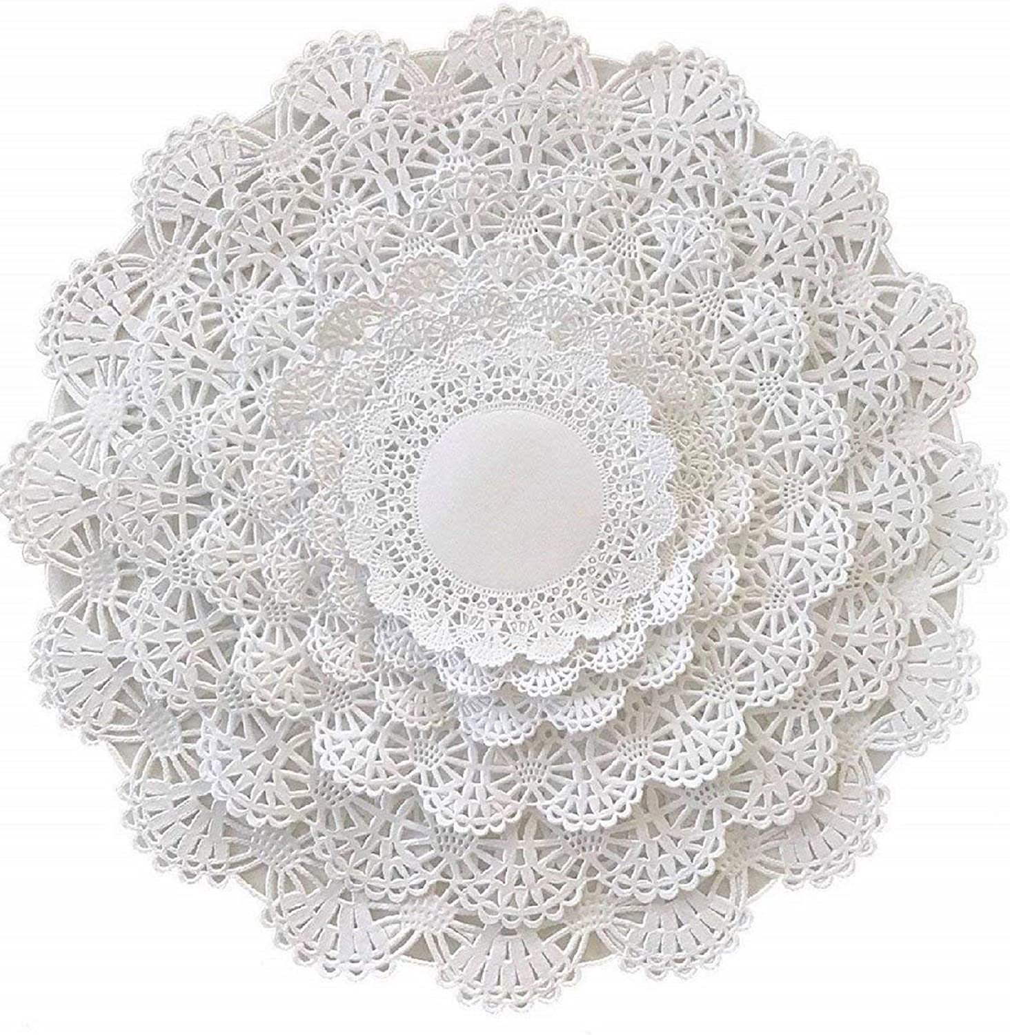 10 Paper Doilies Ideal for Card Making//Scrapbooking