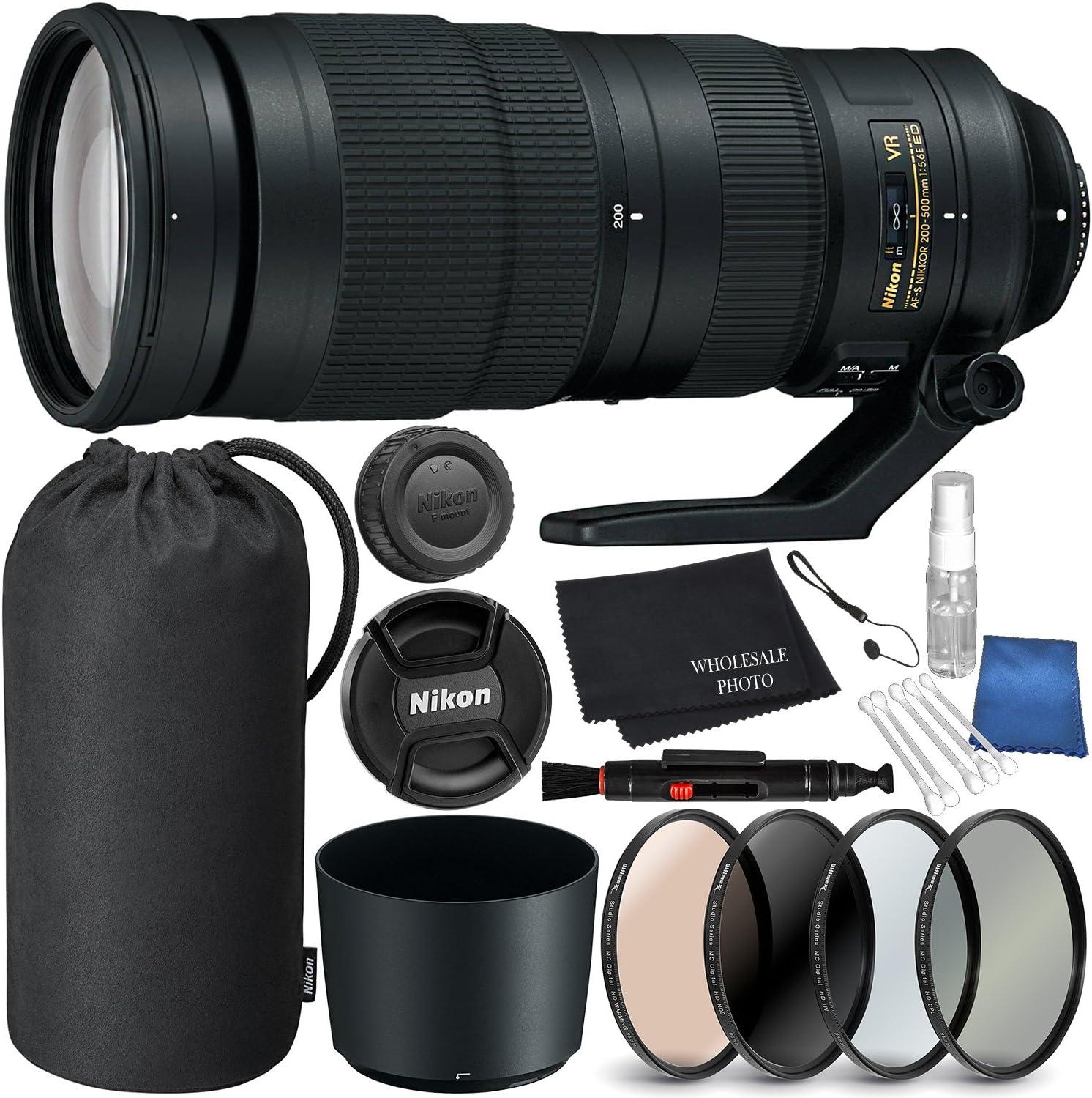 Nikon Af S Nikkor 200 500mm F Elektronik