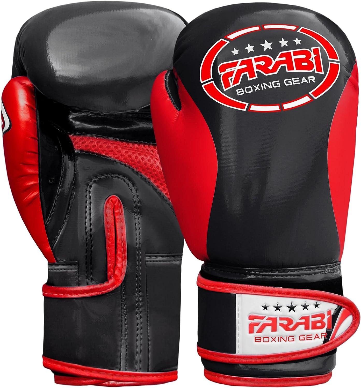 Farabi Junior Starlux Kids Boxing MMA Muay Thai Kickboxing Sacco per allenamenti Borsa per Gli allenamenti Serie Guanti per Ragazzi