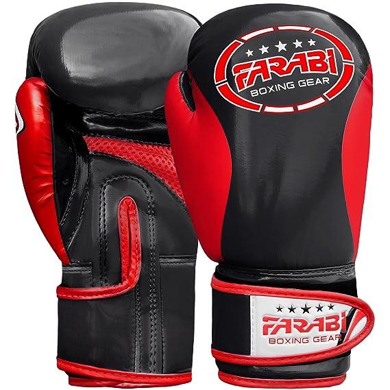 Farabi Kinder Boxhandschuhe, Junior Muay Thai Training Handschuhe, Kinder Boxsack mitt