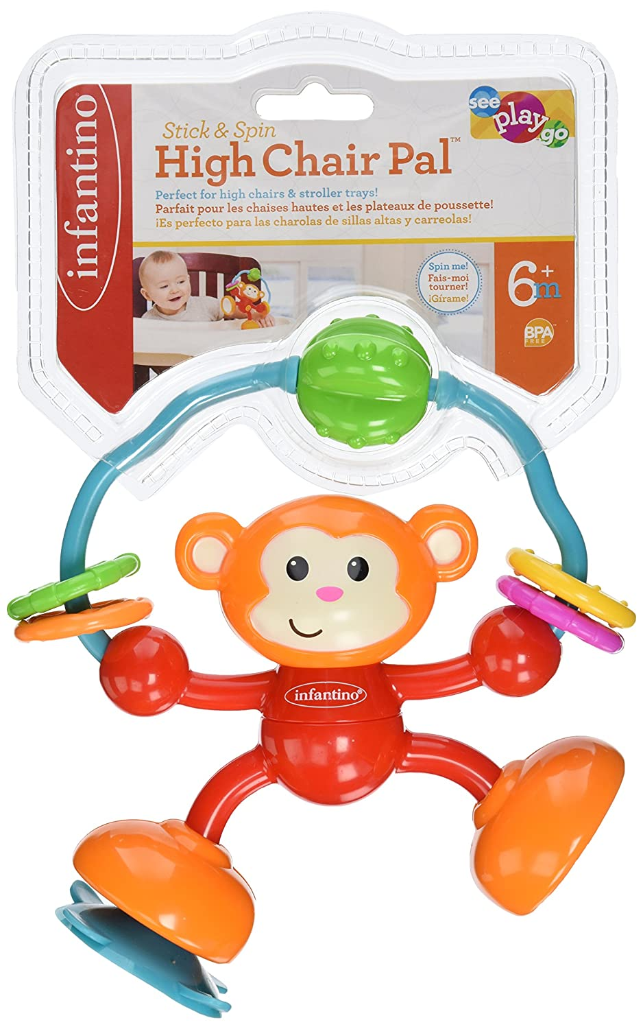 Infantino Stick and Spin High Chair Pal 206-827Z