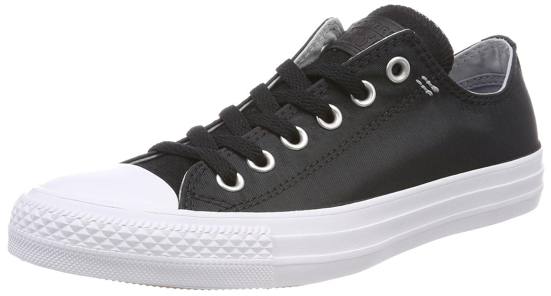 Converse Unisex-Erwachsene CTAS OX Fitnessschuhe  48 EU|Schwarz (Black/Wolf Grey/White 064)
