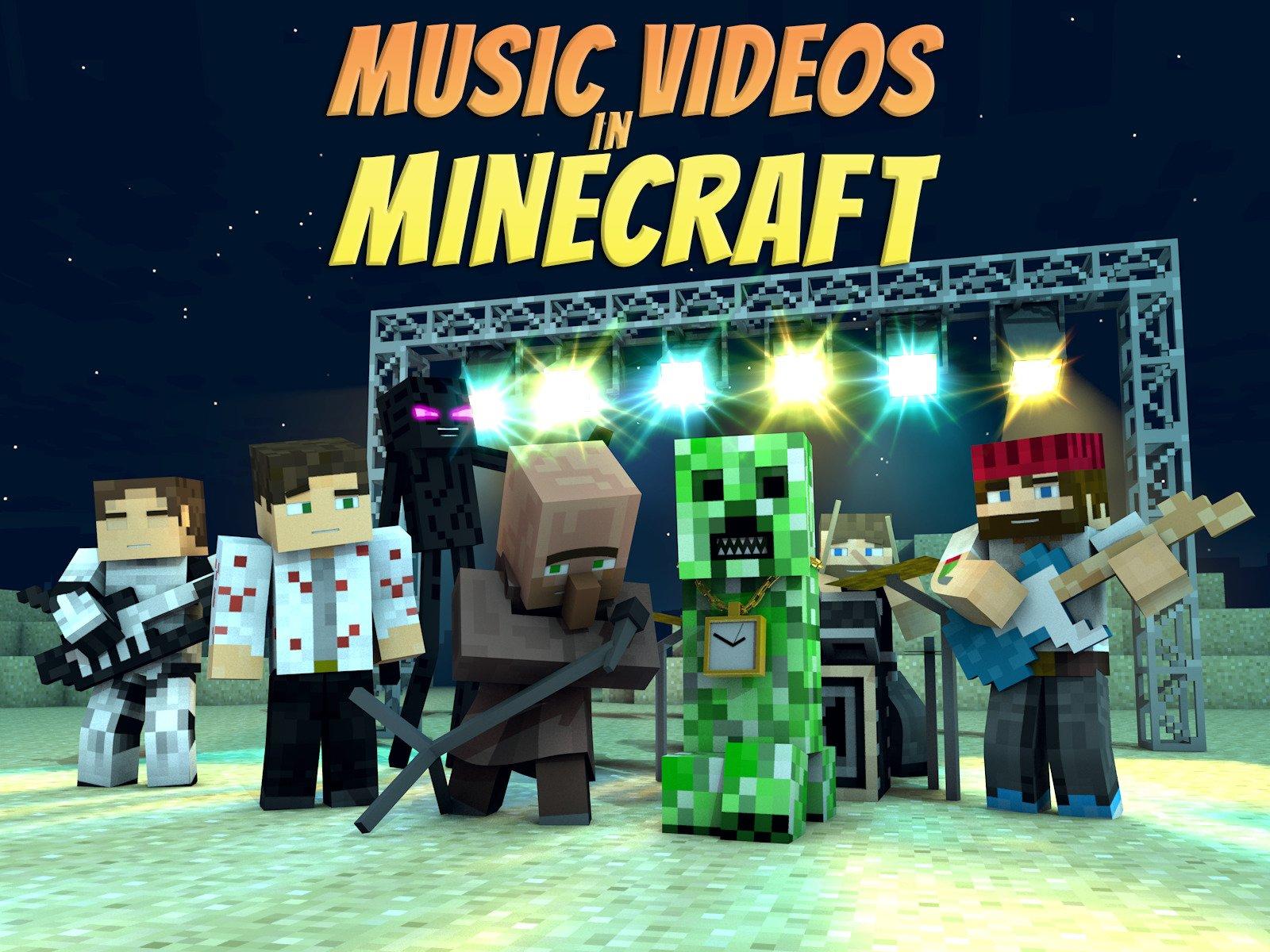 Watch Music Videos in Minecraft  Prime Video