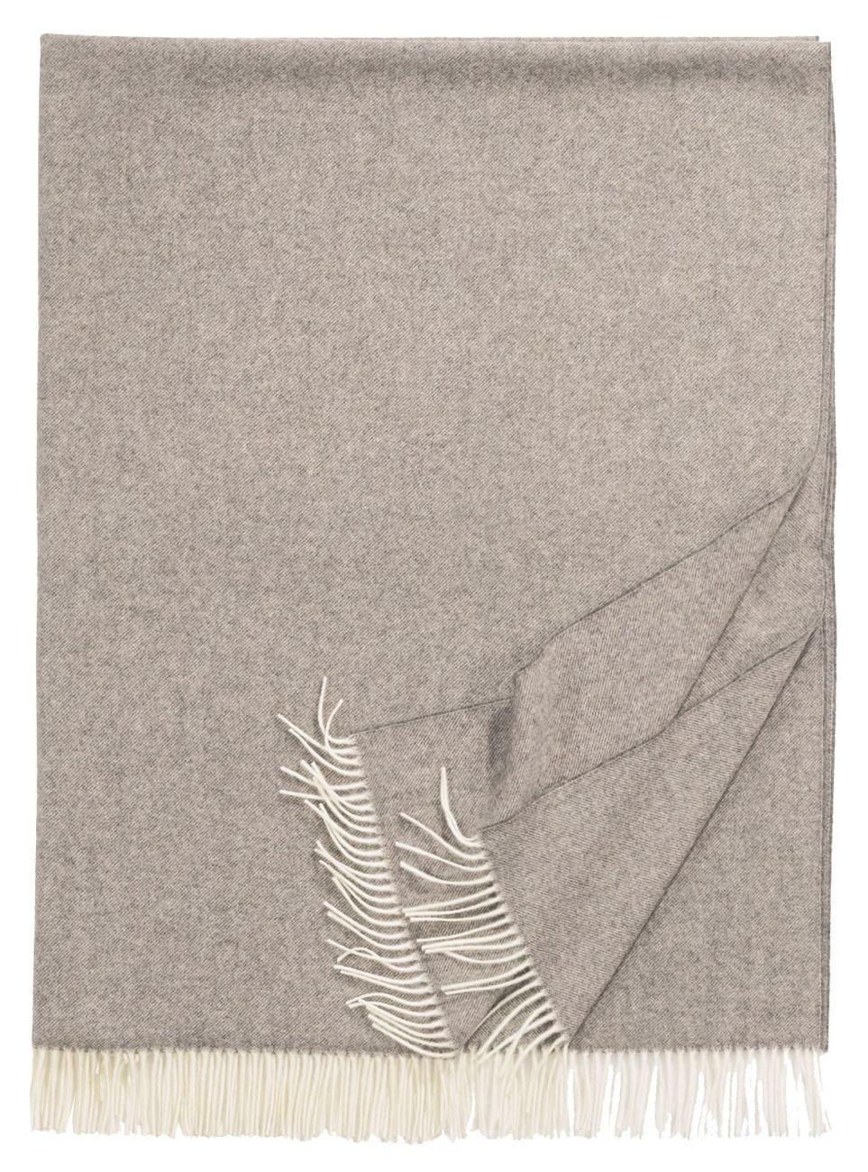 Eagle Products Plaid Wolle grau Größe 130x200 cm