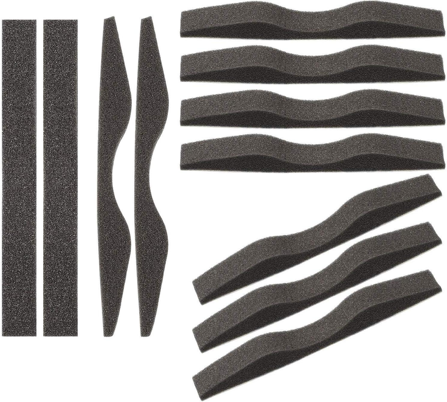 Almohadilla de Nariz Anti Niebla Espuma de Memoria de Microfibra Tira Protectora de Nariz Autoadhesiva Esponja de Puente de Nariz (24 Piezas)
