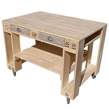 Palettenmobel Grill Tisch Captain Cook Basic Aus Zertifiziertem
