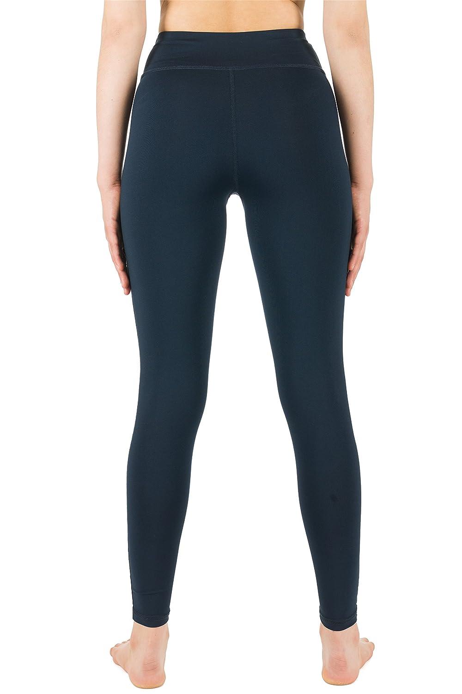 icyzone Damen Leggings Lang Sport Yoga Hose Hohe Taille Training Tights Gym Pants Laufhose