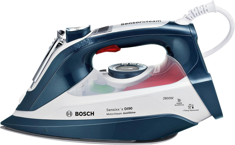 Bosch TDI902836A - Centro de planchado compacto (producción de vapor con protección del motor, tecnología AntiShine, 2800 W)