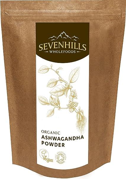 Sevenhills Wholefoods Ashwagandha En Polvo Orgánico 1kg