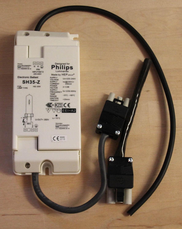TD PAR30 Lampe Leuchte T TC Vorschaltger/ät EVG 35 Watt 35W CDM HCI HQI TS