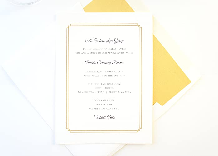 Company Fundraiser Invitations Charity Corporate Event
