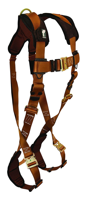 FallTech 8253 ViewPack, Web SAL Single Leg with 2 Snap Hooks, 3', Blue/Black by FallTech B014DQKD2Q