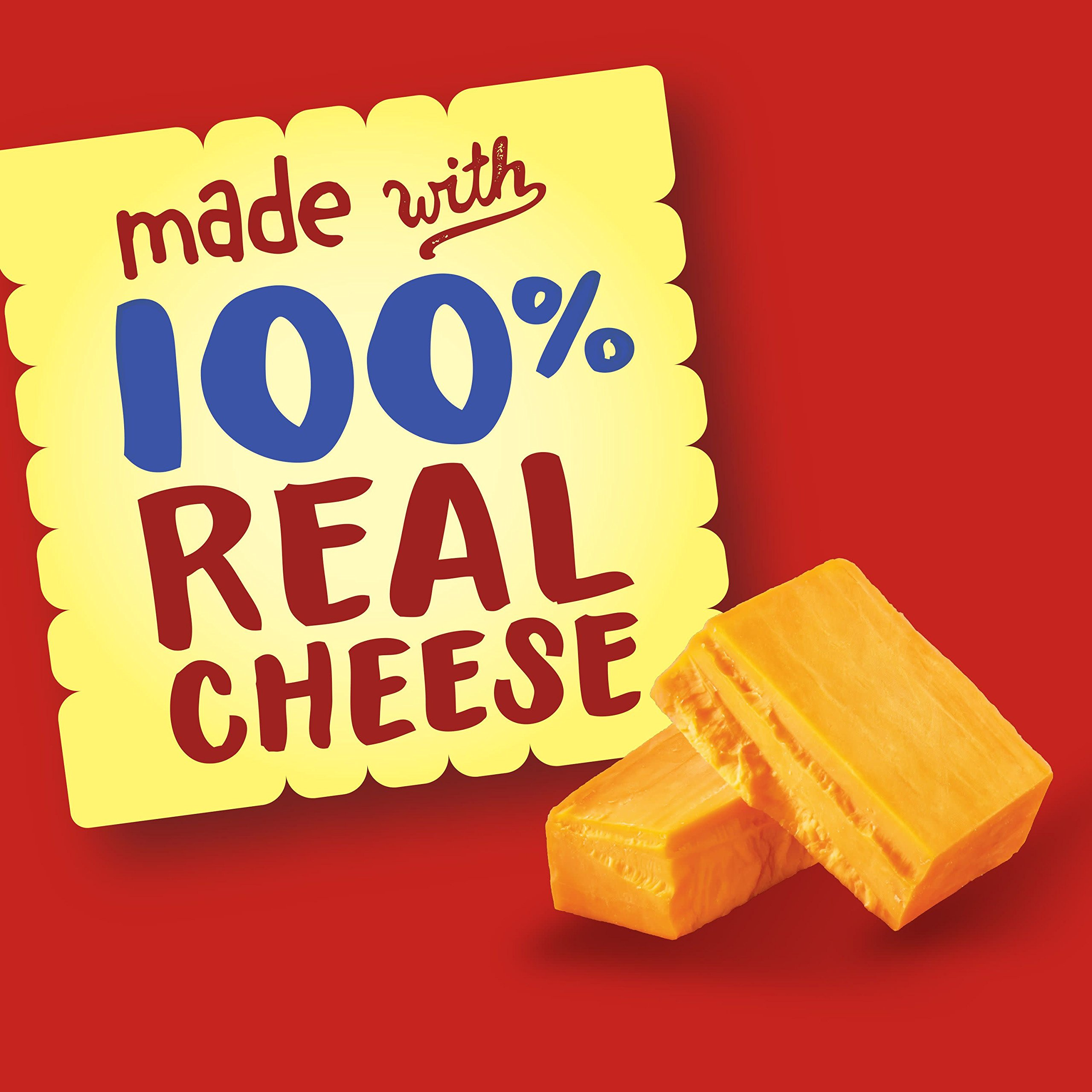 Cheez-It Baked Snack Cheese Crackers, Reduced Fat, Original, 6 oz Box(Pack of 12) by Cheez-It (Image #5)