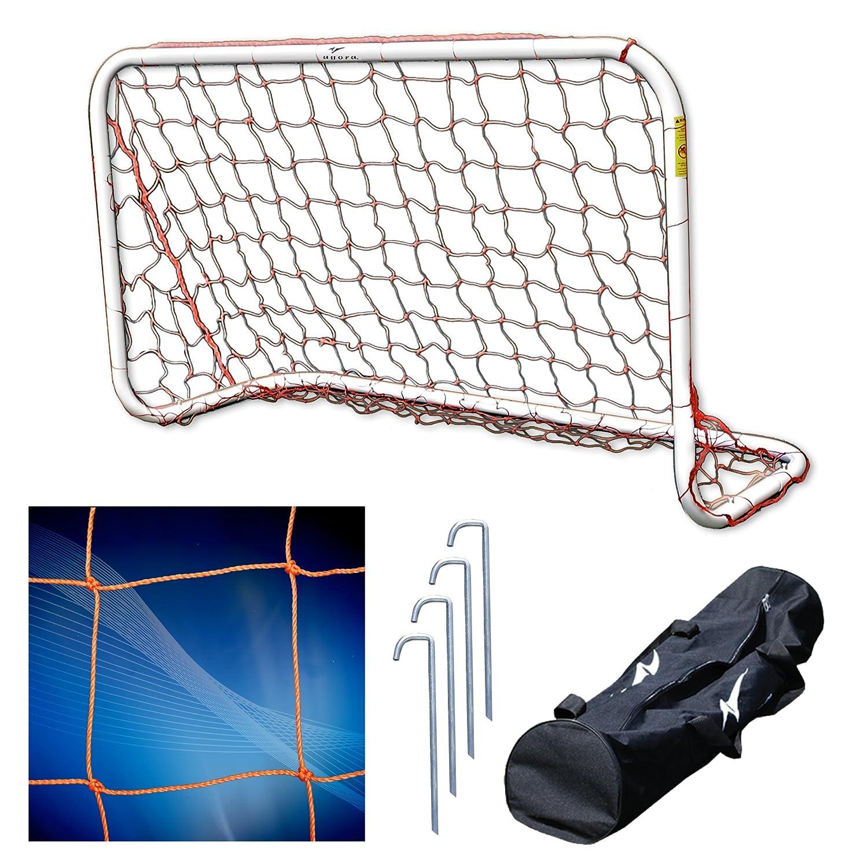 アゴラアルミポータブルサッカーゴール – 4 ' x9 ' B001MULTX4
