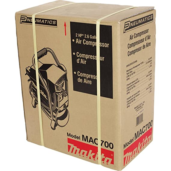 Makita MAC700 Big Bore 2.0 HP Air Compressor: Amazon.es: Bricolaje y herramientas